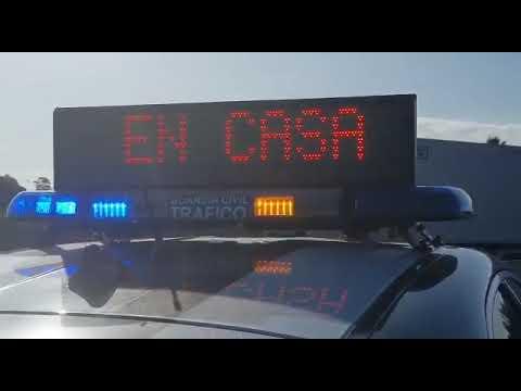 La Guardia Civil controla las carreteras en Semana Santa