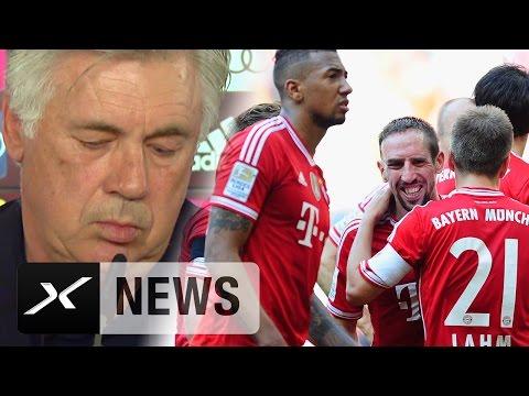 Carlo Ancelotti über CL-Schmerz und den Streit mit Franck Ribery | FC Bayern München