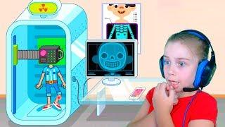 СИМУЛЯТОР мультяшной БОЛЬНИЦЫ в игре Pepi Hospital от Family Play TV Играю и веселюсь
