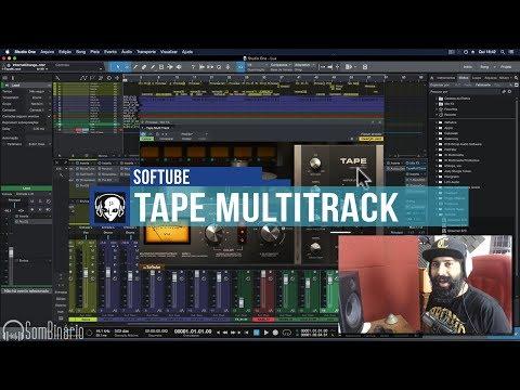 💎 Softube TAPE MultiTrack - Emulação de Fita de Rolo Multi-Canal
