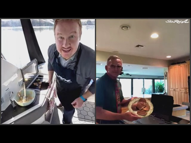 Seas & Greetings Cooking with Kenyon