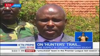 Trail by police and KWS officers who raided a home in Makueni found an assortment of animal trophies
