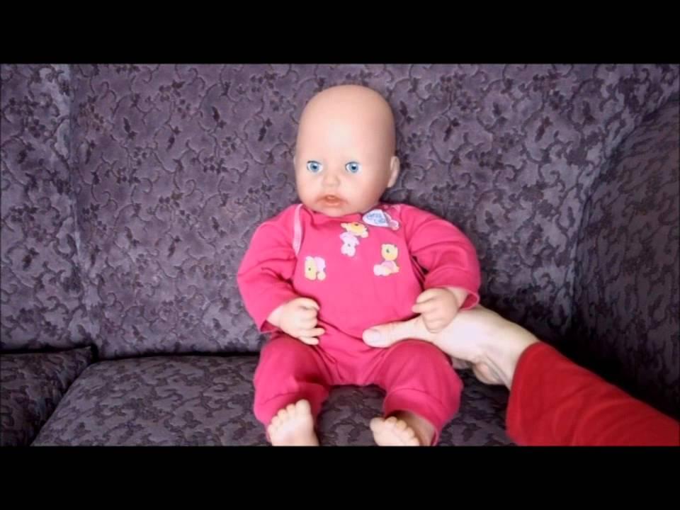 ZAPF BABY ANNABELL MOVES HEAD - YouTube