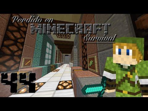 Minecraft Survival 1.8 - Ep 44 - Sala De Cofres Y Transporte Por Vagoneta