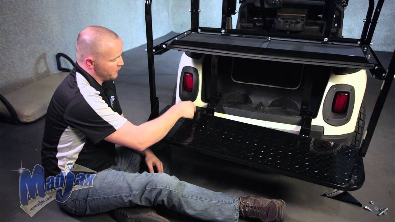 Rear Seat Kit will fit *EZGo® *RXV® | How to Install
