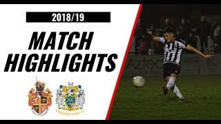 HIGHLIGHTS | Spennymoor Town 1-3 Stockport County | 2018/19
