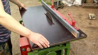 Смотреть видео самодельный деревообрабатывающий станок