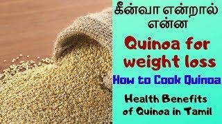 கீன்வா என்றால் என்ன | Quinoa for weight loss | How to cook quinoa | Health Benefits of Quinoa
