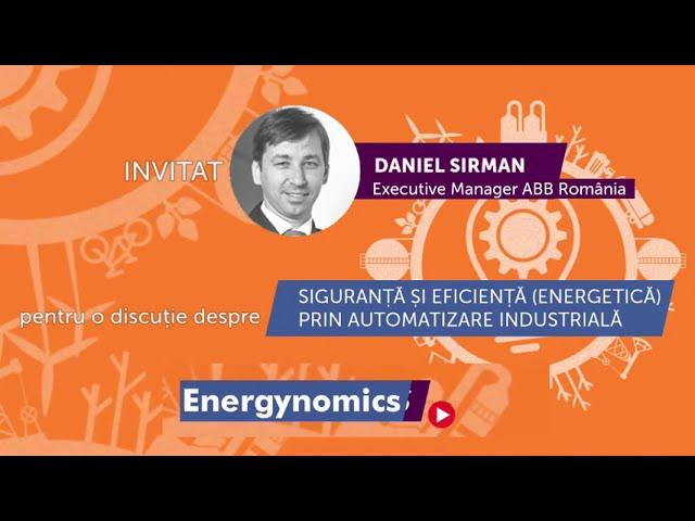 Daniel Sirman - Executive Manager ABB, la Energynomics Talks