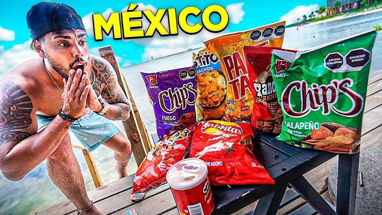 EXPERIMENTANDO COMIDAS EXÓTICAS NO MÉXICO
