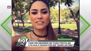 El insólito requisito que impidió a Camila Recabarren post...
