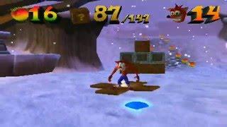 Crash Bandicoot: The Wrath of Cortex - Level 1: Arctic Antics (Crystal/Gem/Blue Gem)