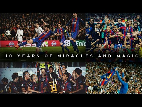 FC Barcelona - Best Moments of Decade • 2010 - 2019 • HD