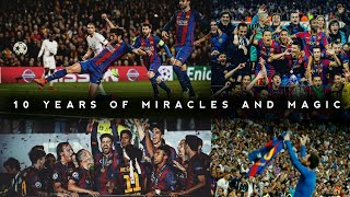 Fc barcelona, the pride of catalan people, club legends , place where football becomes an art.from johan cruyff to ronaldinho lionel messi th...