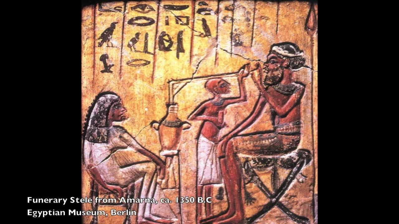 Ancient Egyptian Dancing Skeletons Jar