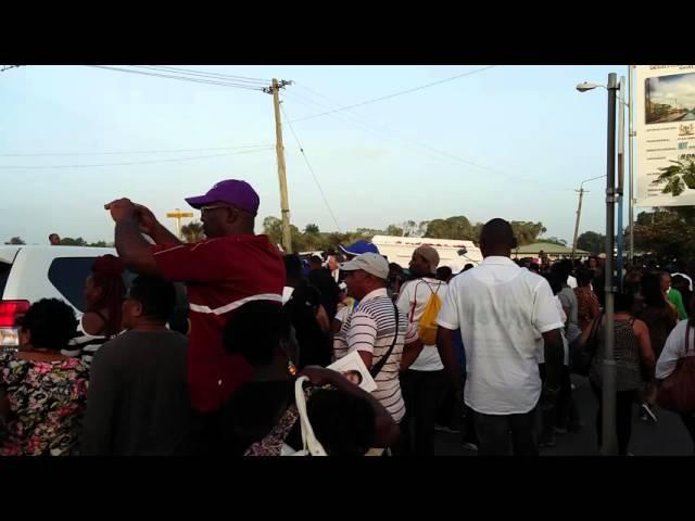 Begrafenis Max Nijman in Paramaribo