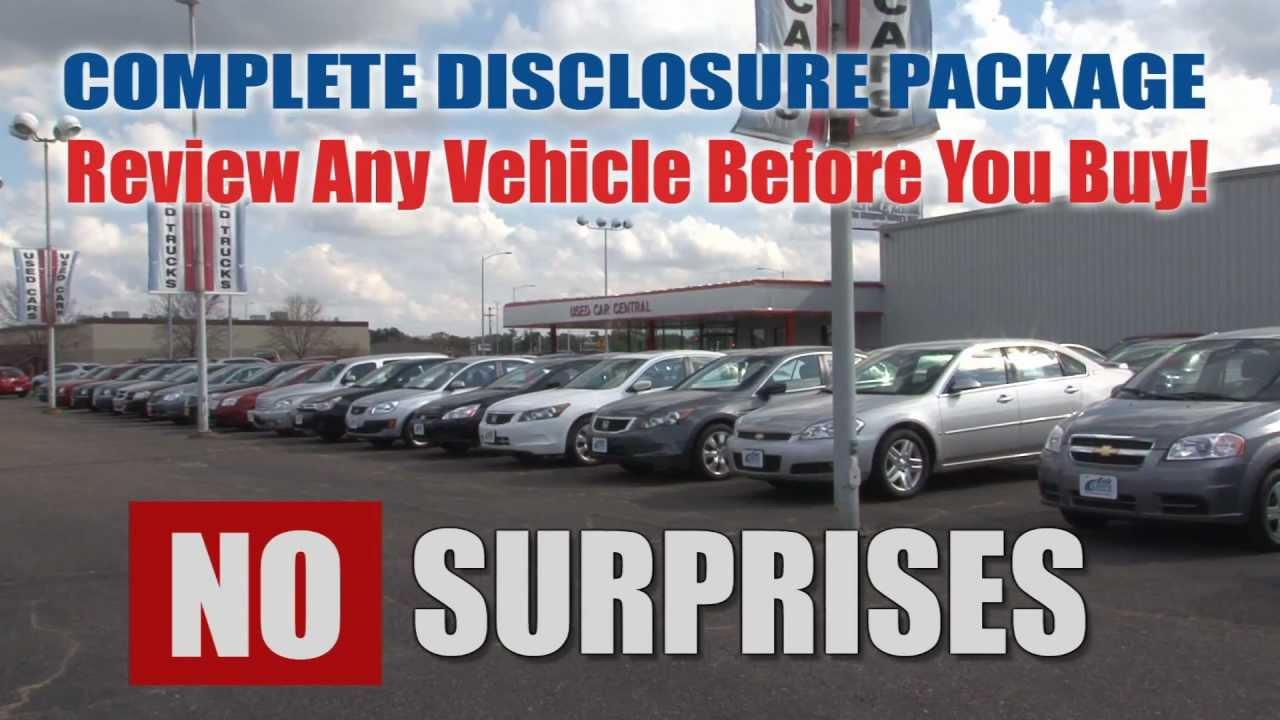 Eau Claire Car Dealers >> Your Carfax Advantage Dealer Is Eau Claire Auto Group