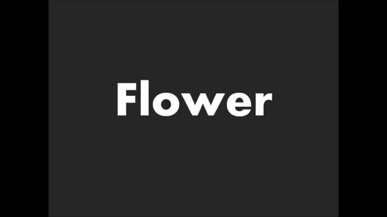 Flower vase pronunciation - How To Pronounce Flower