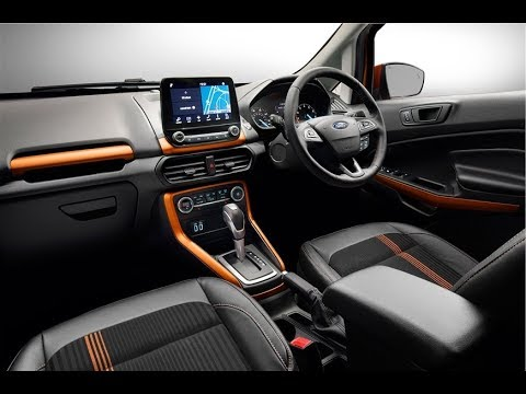 2017 ford ecosport facelift st line interior exterior. Black Bedroom Furniture Sets. Home Design Ideas