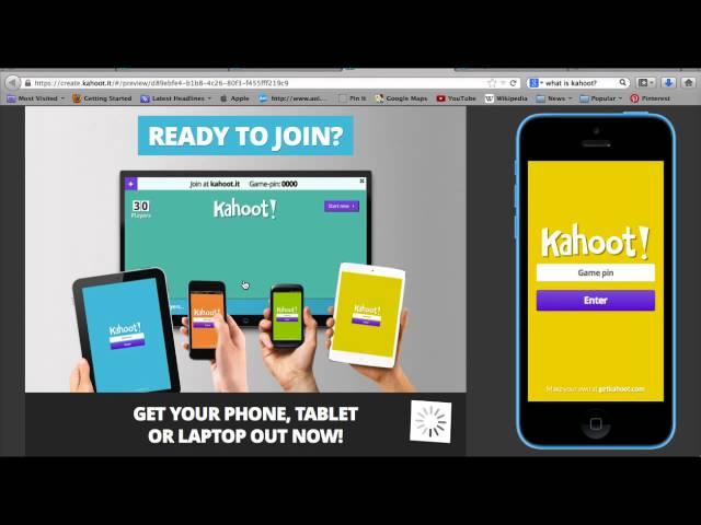 Kahoot! demo for teachers
