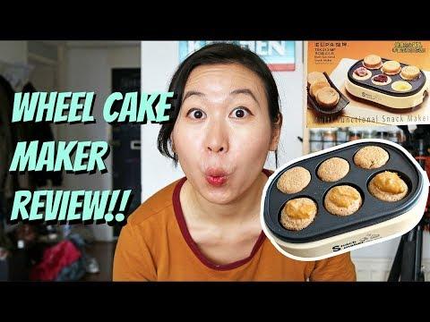 i bought a wheel cake maker 今川焼き 車輪餅 youtube
