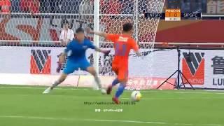 Shanghai SIPG 1-1 Shandong Luneng(Sky Sports)