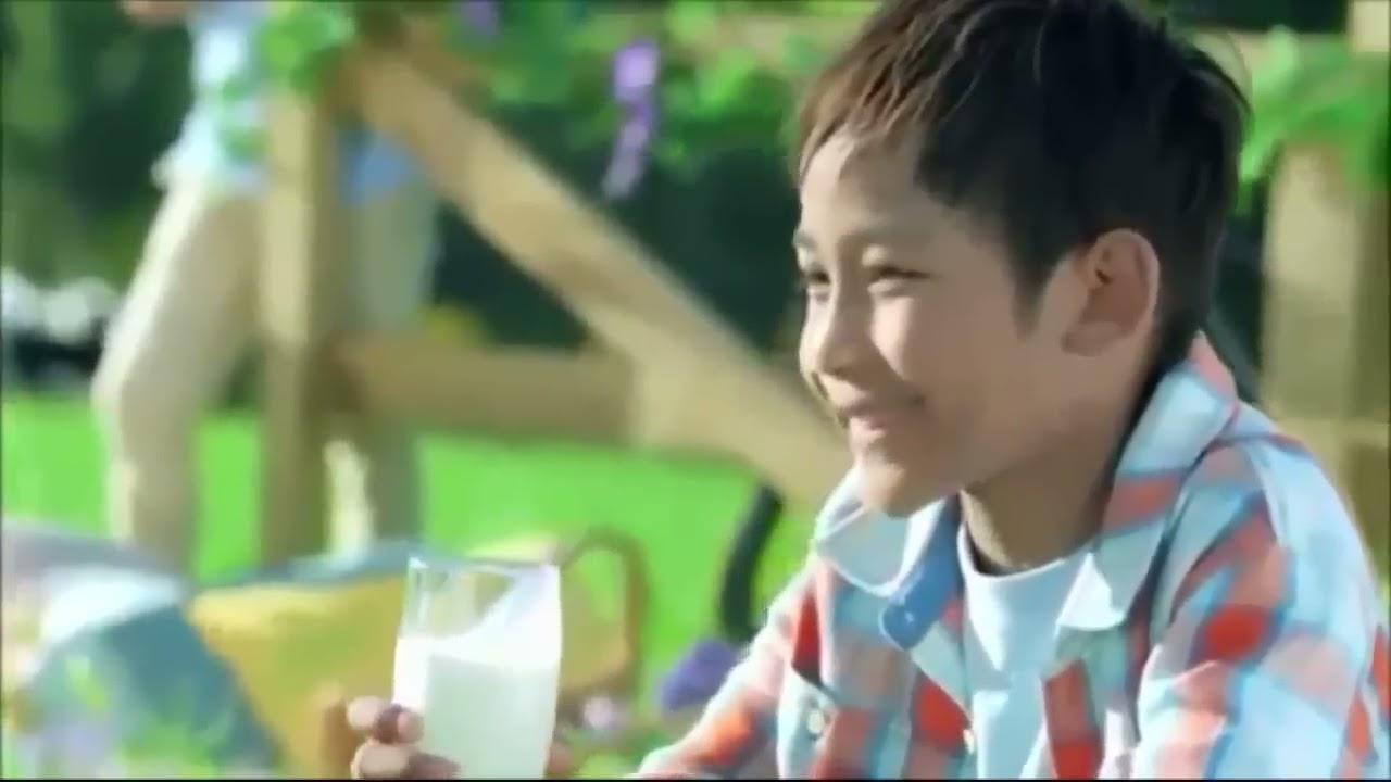 Quảng cáo sữa tươi vinamilk dành cho bé.