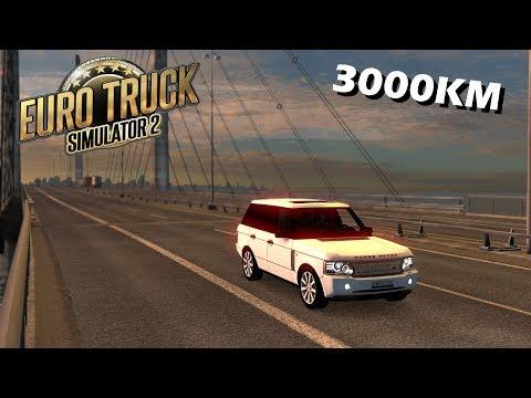 Kandalaksha to Leipzig - Car Trip Timelapse - Euro Truck Simulator 2