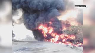 Fuel Tank Accident