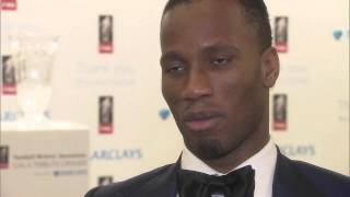 """Didier Drogba hails his """"inspiration"""" Thierry Henry after winning FWA award"""