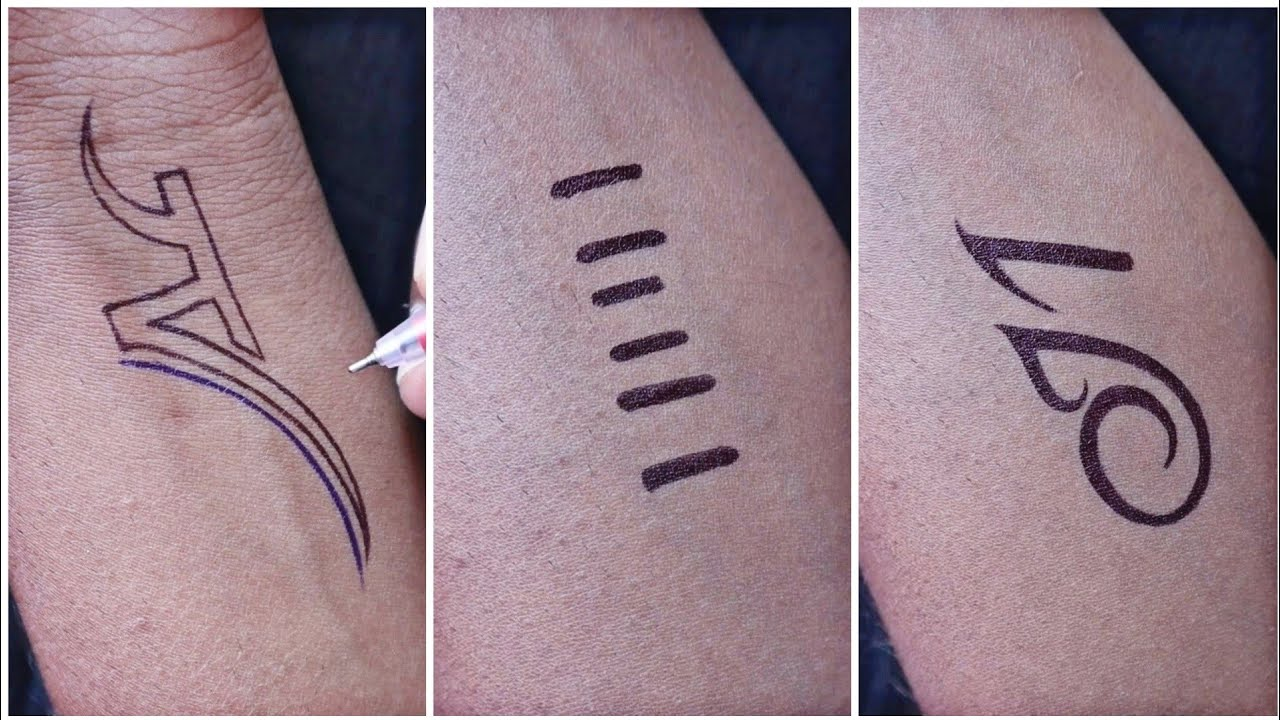 New tattoo designs for girls // amazing mom tattoo || tribal & M letter tattoo designs👌