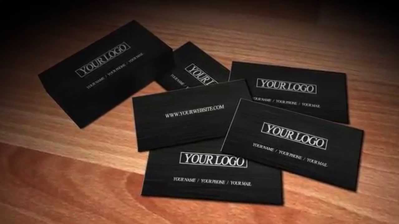 Business Cards After Effects Template Youtube