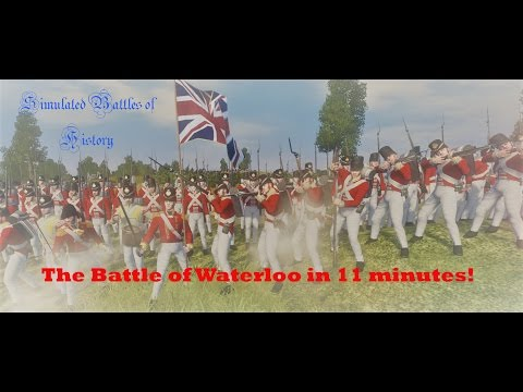 The Battle of Waterloo - Simulated in 11 minutes!