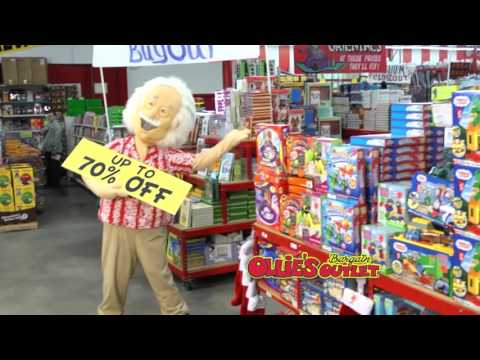Ollie's Truckloads of Deals Commercial 2015 – Lionel Snoopy Railways Train Set