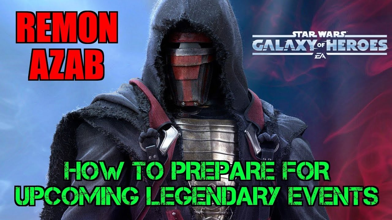 Star Wars Galaxy Of Heroes : How To Prepare For The Upcoming Legendary  Events - SWGOH