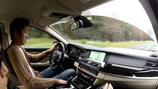 BMW 528i 4기통 버전 시승기