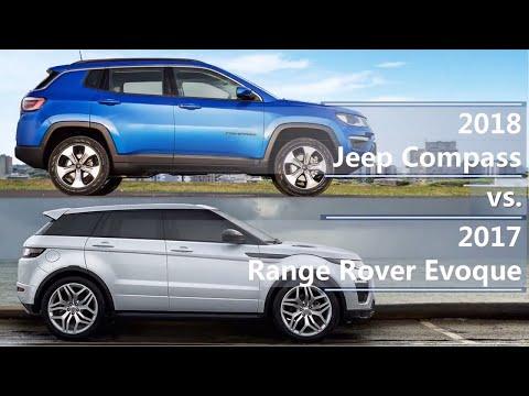 2018 Jeep Compass Vs 2017 Range Rover Evoque Technical Comparison