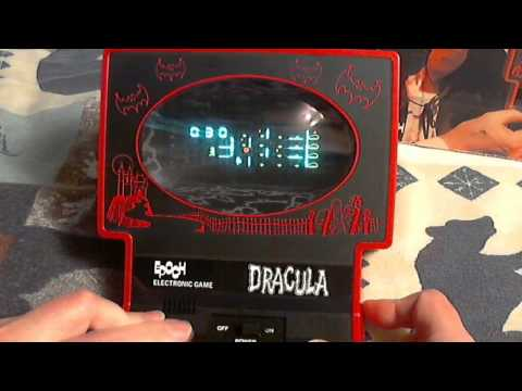 Epoch's Dracula Electronic Handheld Tabletop Unboxing & Gameplay
