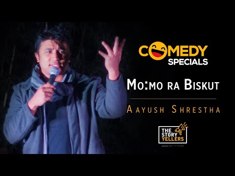 STAND UP COMEDY ll MOMO RA BISKUT ll Aayush Shrestha