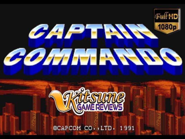 Capitão Comando - Revivendo Mais um Sucesso dos Arcades de 1991