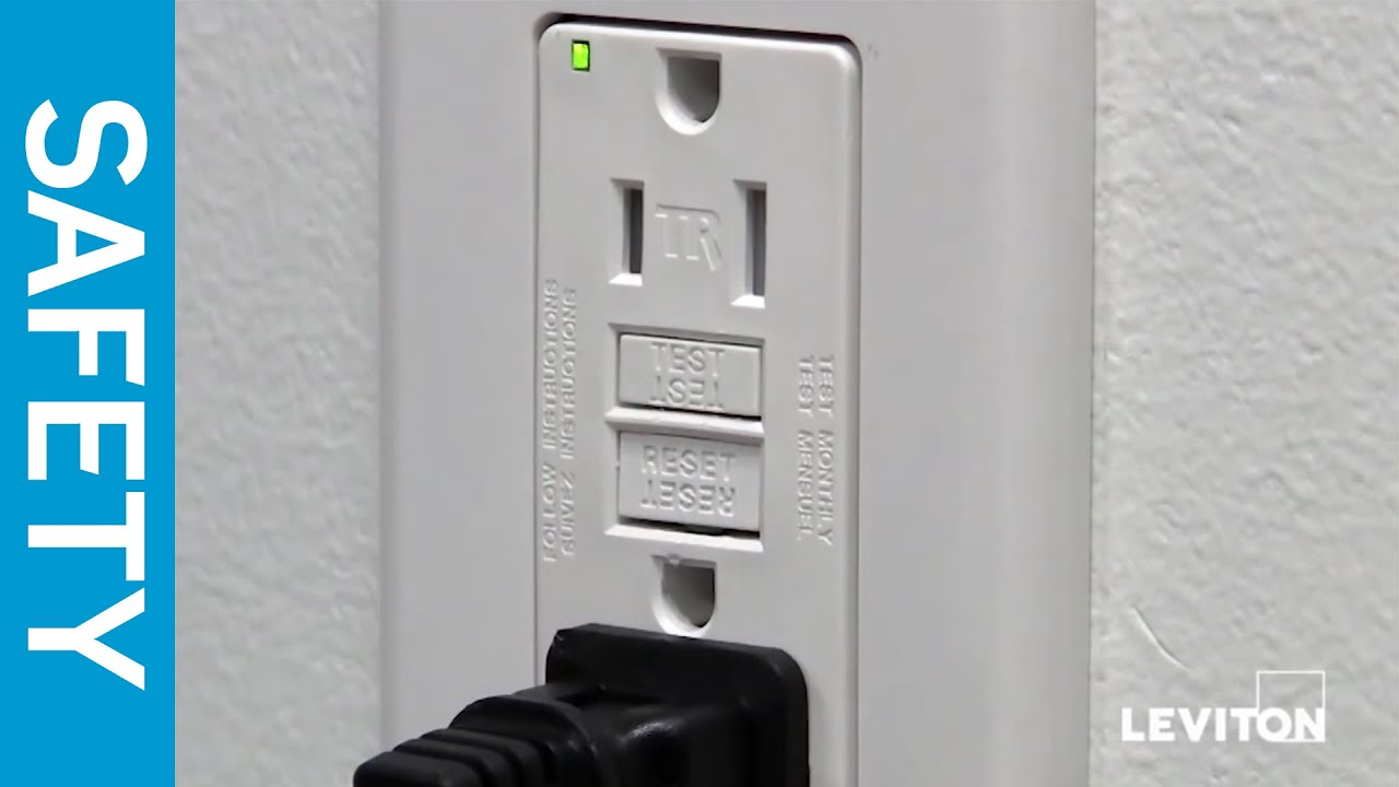 Leviton Presents How To Test A Gfci Device Youtube Learn Ground Fault Circuit Interrupters Can Protect Against