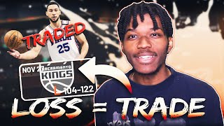 Every Time We Lose, I Trade A Player Away Rebuild In NBA 2K20