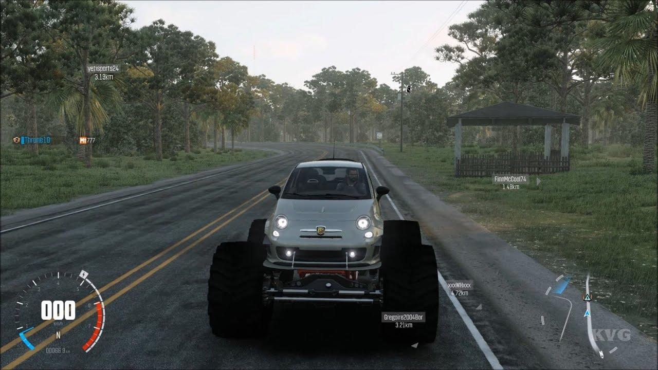 Abarth 500 Monster Truck - The Crew: Wild Run - Test Drive ...