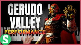 """Gerudo Valley"" from Legend of Zelda: Ocarina of Time | (Piano Cover) ft. Sydney Kjerstad"