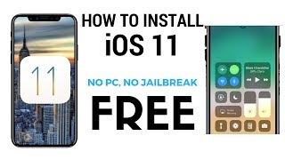 How To Install iOS 11 Beta 1 FREE No Computer // iPhone, iPad & iPod Touch