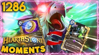 THE 2 CARDS YOU SHOULD NEVER EVER MIX UP! | Hearthstone Daily Moments Ep.1286