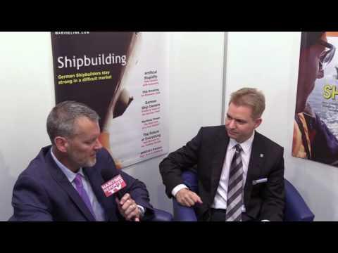 Maritime Reporter TV Interviews Dr. Christian Strahberger, CEO, Schottel