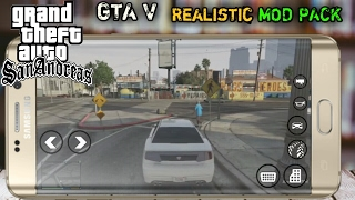🔴Install GTA V Full Realistic Mod on GTA:SA!Android