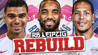 REBUILDING RB LEIPZIG!!! FIFA 18 Career Mode