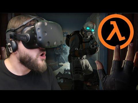 To Jest Obecnie Najlepsza Gra Na VR - Half Life: Alyx (HTC VIVE VR)